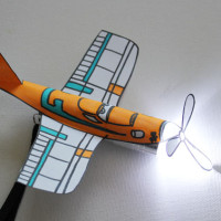 Printable Dusty Flashlight cover