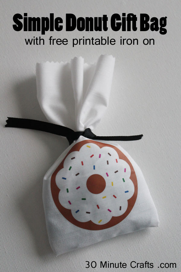 Simple Donut Gift Bag
