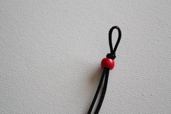 add first bead