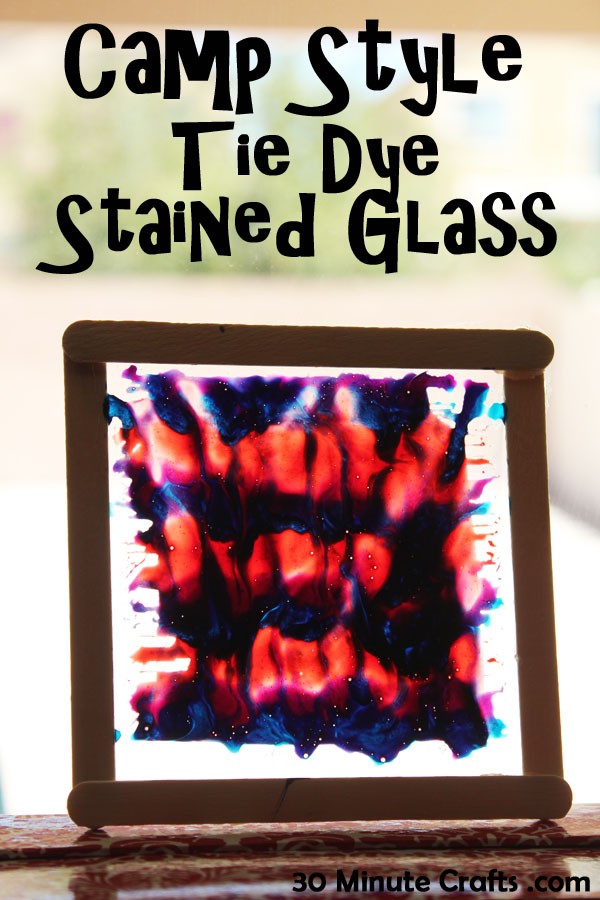 camp style stained glass