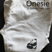 iron on onesie
