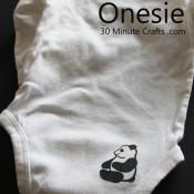 iron on onesie