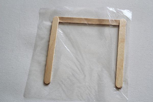 make popsicle stick frame - 30 Minute Crafts
