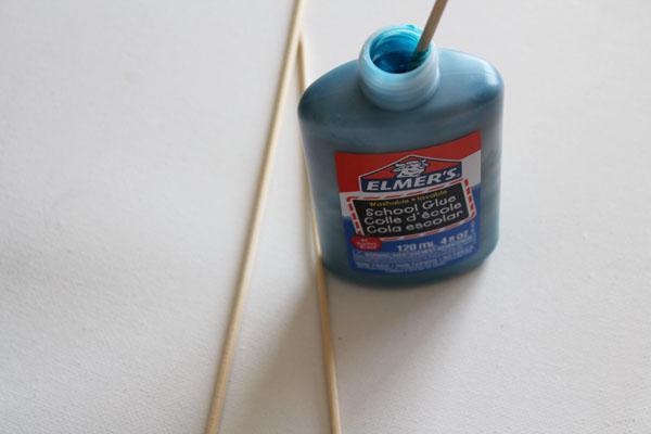 mix dye glue