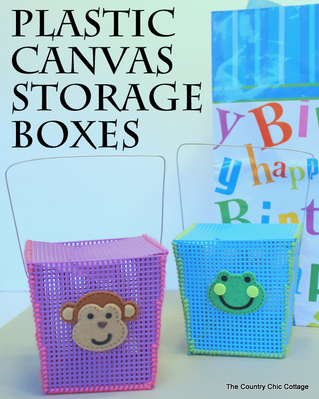 plastic-canvas-storage-boxes