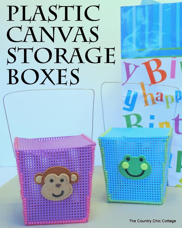 plastic-canvas-storage-boxes