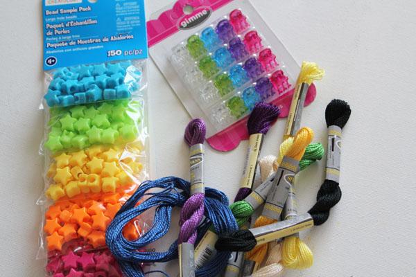 supplies for faux hair wrap
