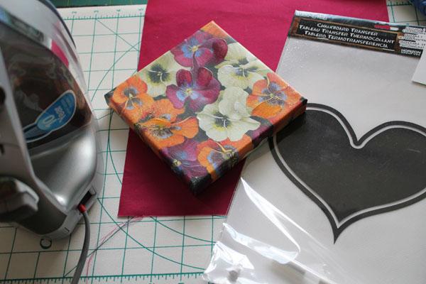 supplies for iron on decor