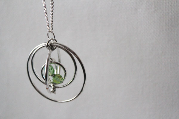 time turner inspired necklace