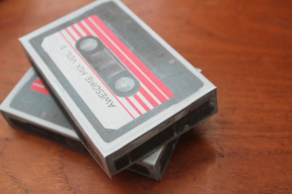 Casette Tape Box Printable