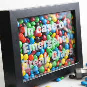 in case emergency break glass craft