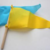 simple pennants from olyfun