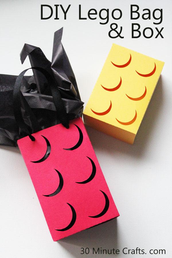 DIY Lego Bag and Box