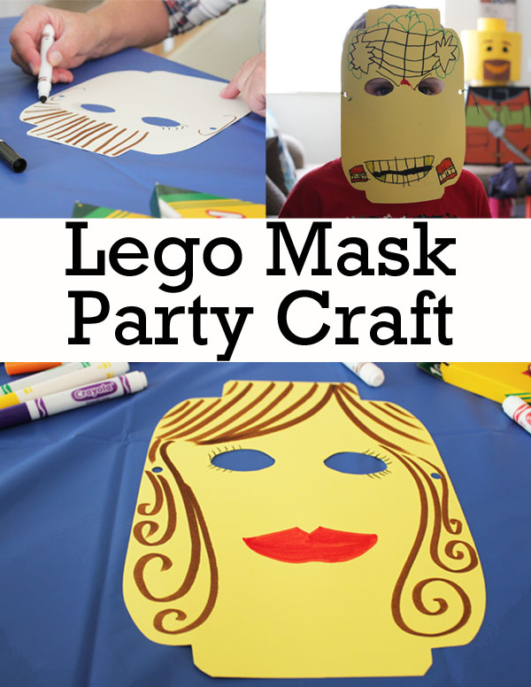 Lego Mask Party Craft