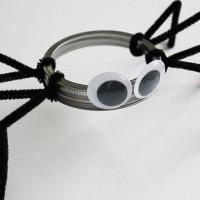 Make a Mason Jar Lid Spider