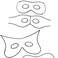 Printable Mask Templates