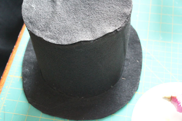 no sew felt top hat in just 30 minutes