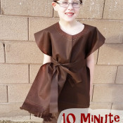10 Minute Little Indian Costume
