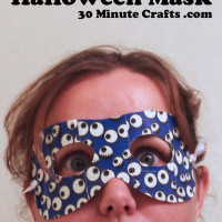 Duck Tape Halloween Mask