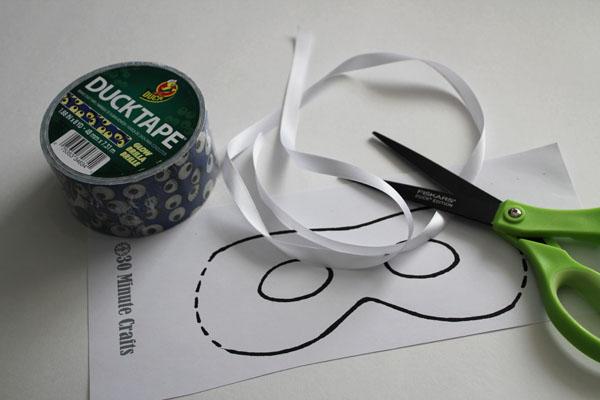duck tape mask supplies