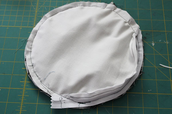 sew on front