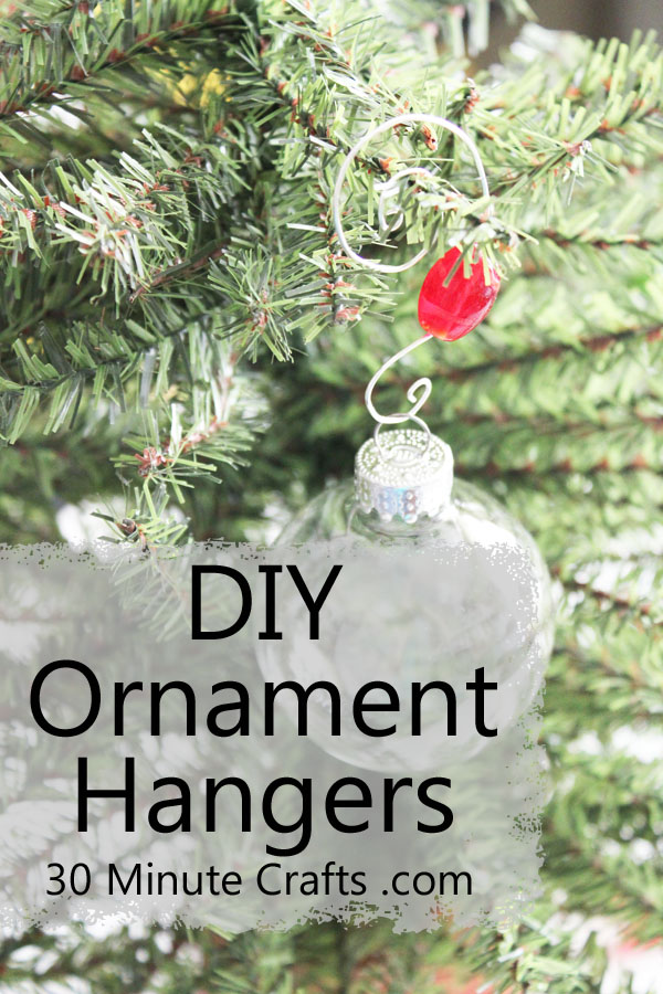 DIY Ornament Hangers on 30 Minute Crafts