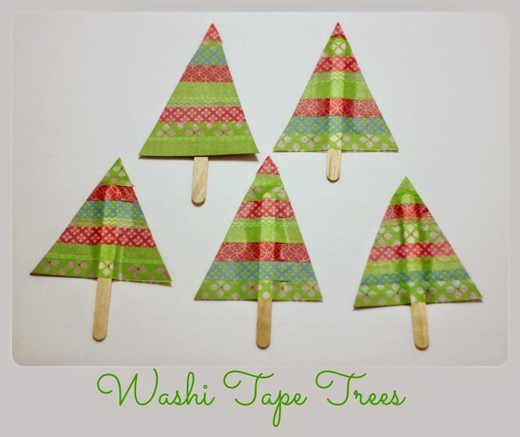 Washi Tape Trees 1