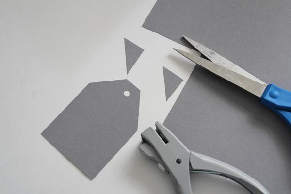 cut tag shape