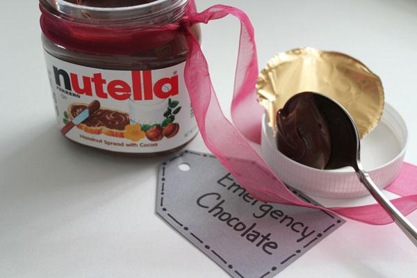 delicious nutella gift