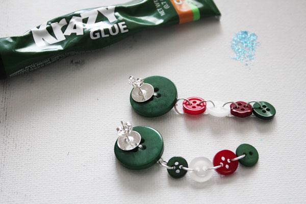 glue on earring backs