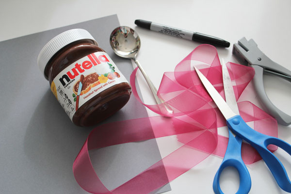 supplies for gifting nutella
