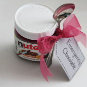 the gift for anyone - nutella and a spoon