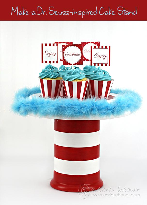 Dr-Seuss-cake-stand_ Carla Schauer