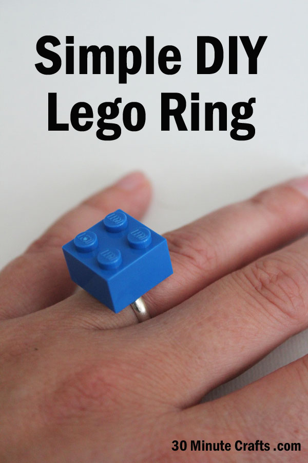 Simple DIY Lego Ring