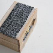 finished tiled box