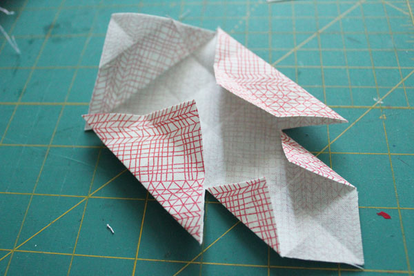 fold in flaps