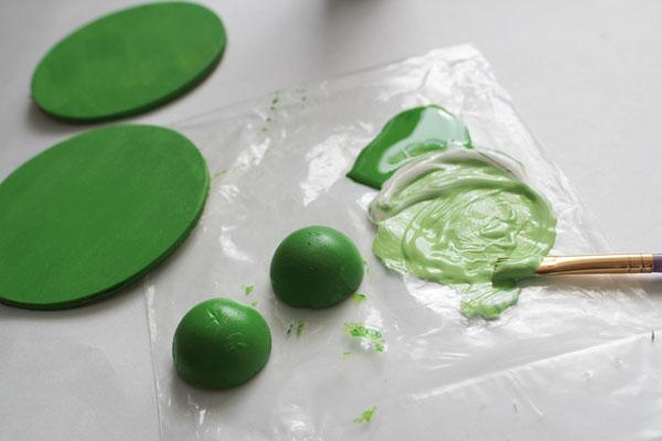 paint the eggs