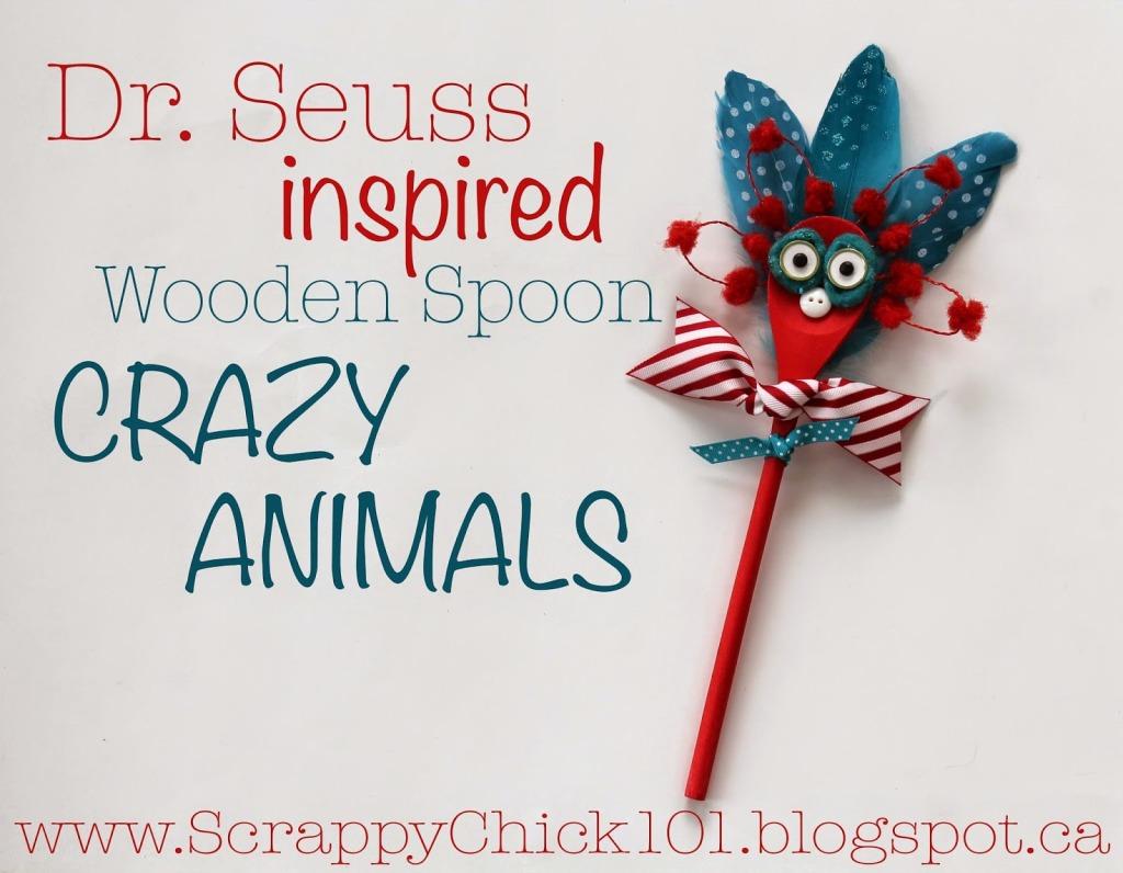 seuss inspired Seuss Characters