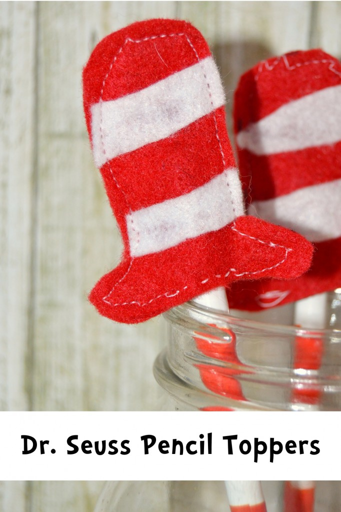 seuss pencil toppers - one artsy momma