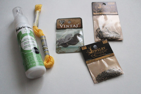 supplies for lorax necklace