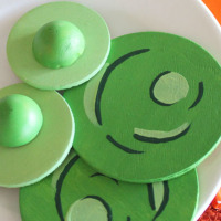 wooden play food green eggs and ham