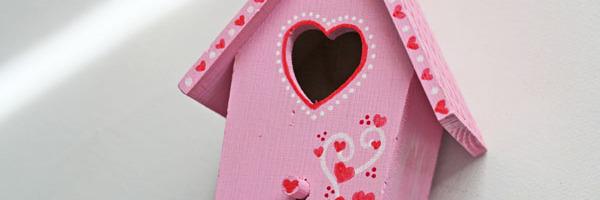 Valentine Birdhouse