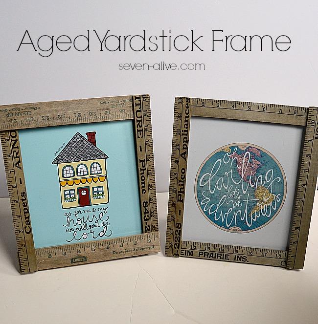 Aged-Yardstick-Frame