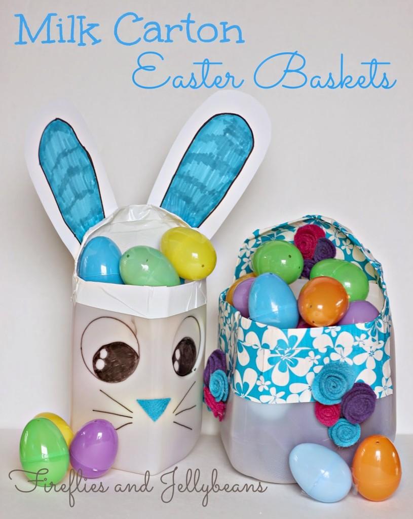 Milk Carton Easter Basket 1