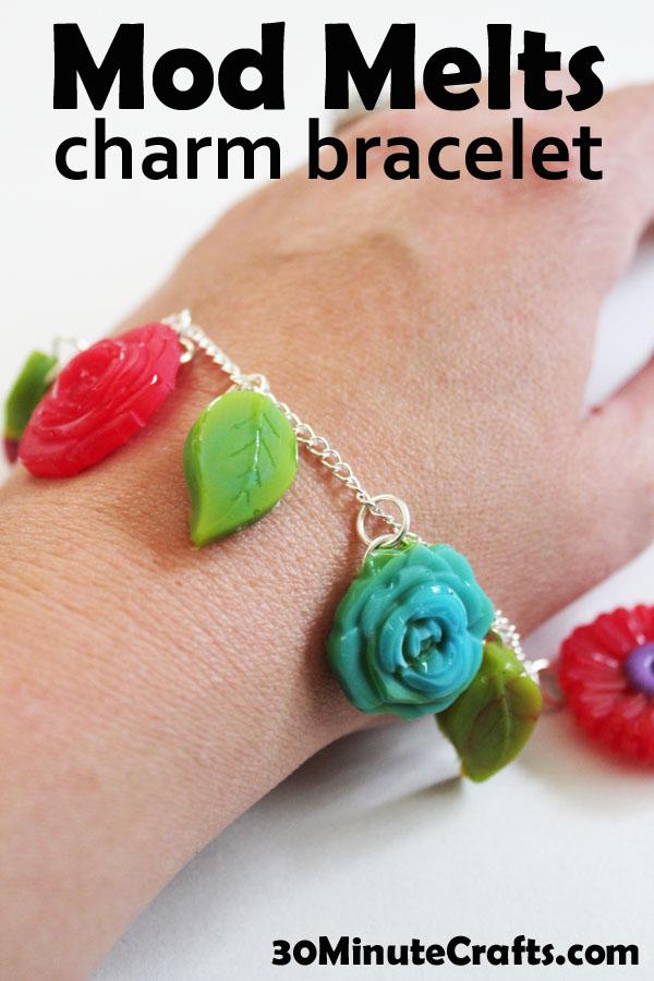 Mod Melts Charm Bracelet