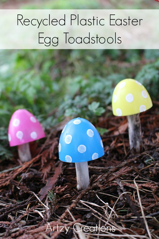 Recycled-Plastic-Easter-Egg-Toadstools-6-Artzy-Creations