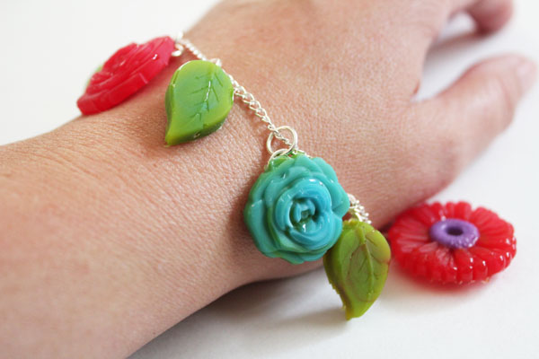 Simple Mod Melts Charm Bracelet