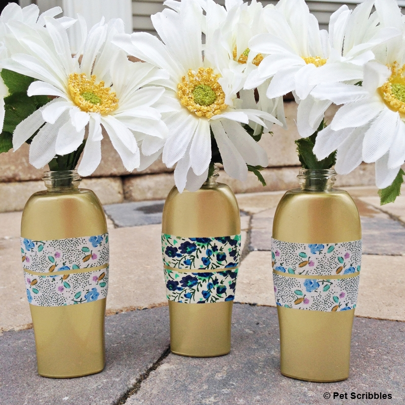 Upcycled-Bud-Vases-from-ROC-Skincare-bottles