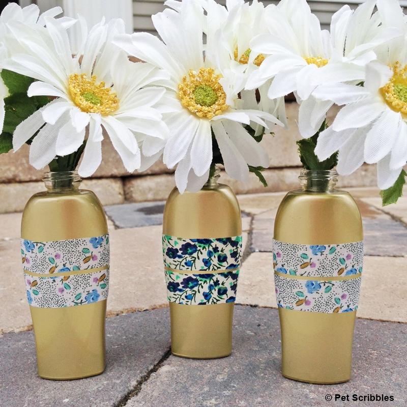 Upcycled-Bud-Vases-from-ROC-Skincare-bottles