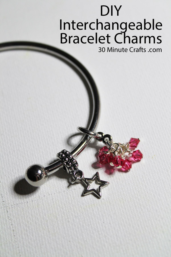 DIY Interchangeable Bracelet Charms